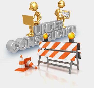 Websida under kontruktion