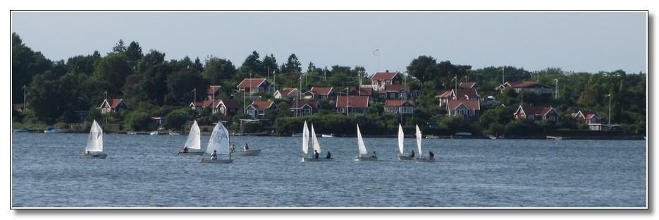 KJK seglare utanför Brändaholm