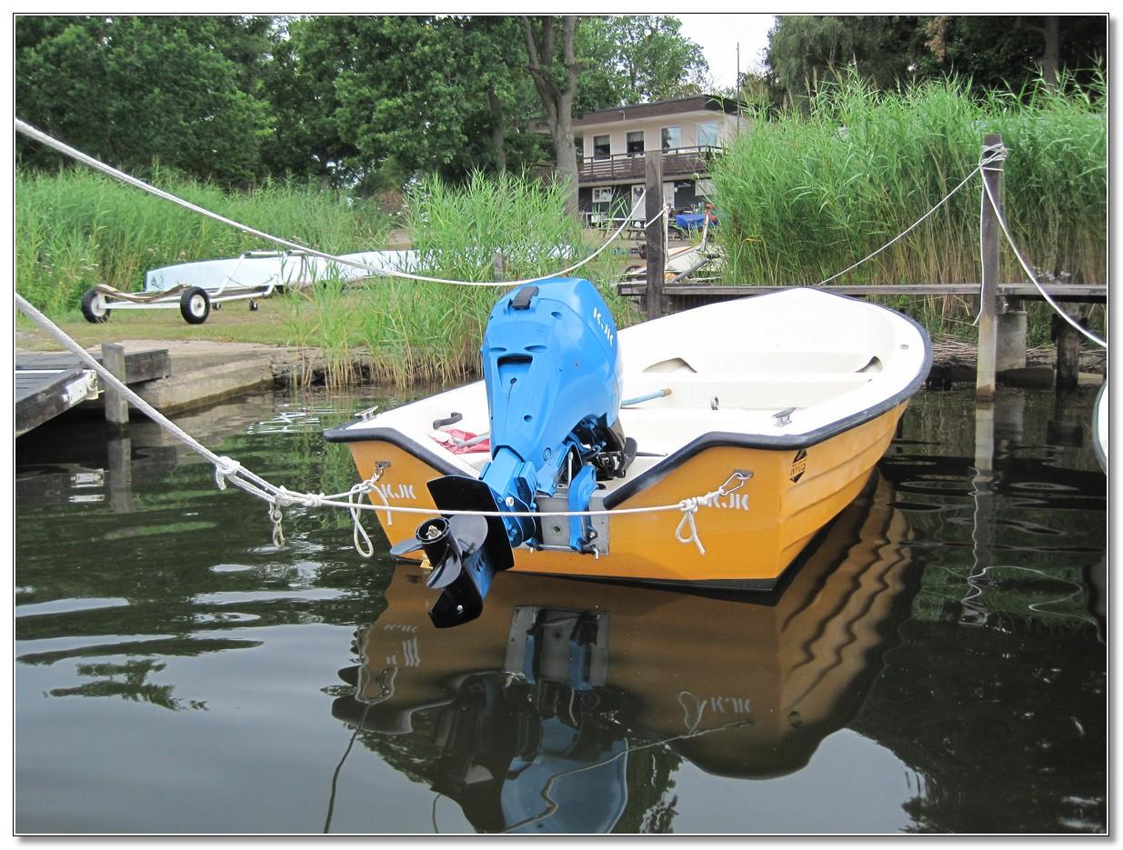 KJK Segling Båtmotor