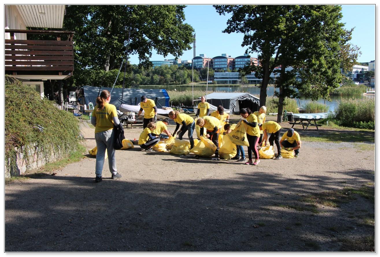 KJK Strandstädning 2020-09-19 #StädaMera #StädaStrand #StädaSverige