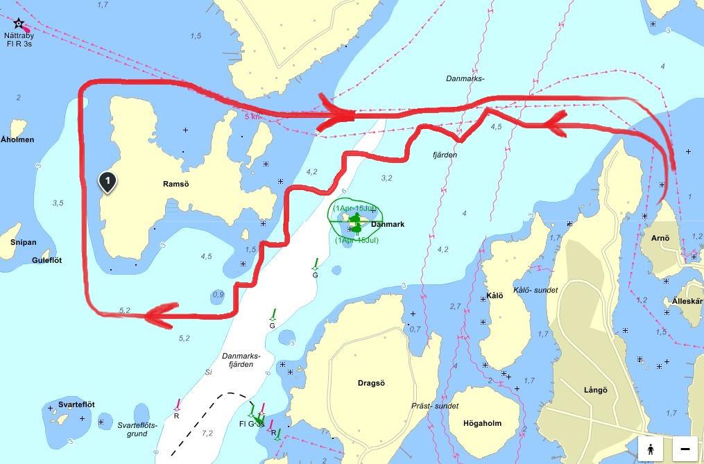 Ramsö runt 2016-05-21