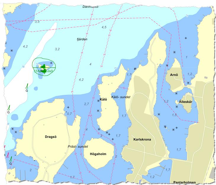 Sjökort från Eniro